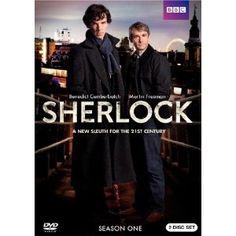 DVD of Season 1 of the groundbreaking series from the BBC starring Benedict Cumberbatch, Martin Freeman and Mark Gatiss. Sherlock Holmes Bbc, Sherlock Series 1, Sherlock Season 1, Sherlock Holmes Stories, Moriarty, Sherlock Tv, Benedict Cumberbatch, Sherlock Cumberbatch, Don Draper