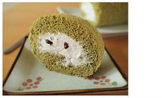 抹茶のロールケーキ レシピ01