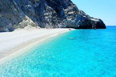 Lefkada, Egremni beach