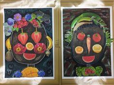 플래뮤 워크샵[Vegetable Face]/Museum art[등촌플래뮤미술학원] : 네이버 블로그 Projects For Kids, Art Projects, Crafts For Kids, Arts And Crafts, Giuseppe Arcimboldo, Italian Theme, Art Academy, Elementary Art, Art School