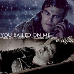 "#TVD 7x17 ""I Went to the Woods"" - Stefan and Damon"
