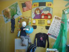 The Funky Frog, Children's Resale Boutique 2014 Back to School Window