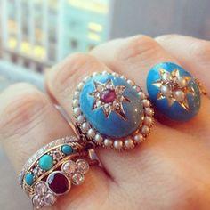 Victorian Rings at Metier
