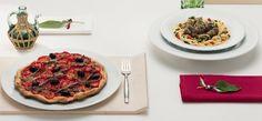 Platillos mediterráneos en loza para restaurante #Tafelstern