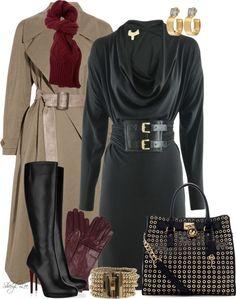 """""""A Day at the Office with Michael Kors"""" by sheryl-lee on Polyvore"""