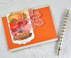 Autumn Hills Revisited: Thankful For You Card by Dawn McVey for Papertrey Ink (October 2014)