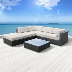 Luxxella Outdoor Patio Wicker BERUNI Off White Sofa Sectional Furniture 6pc All Weather Couch Set Luxxella,http://www.amazon.com/dp/B00EHYVH20/ref=cm_sw_r_pi_dp_F1Dstb06BZVBRFBV