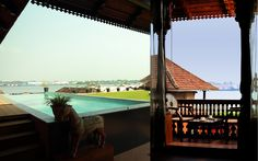 Exterior Designing Completed for Museum Hotel, Mattancherry