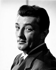 Robert Mitchum - a tough guy in real life as well as the movies.