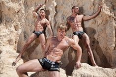 Addicted camouflage underwear - boxer briefs, push-up brief