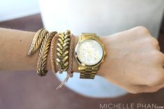 How to Stack Arm Candy