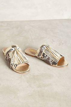 innovative design feb72 3dae3 Billy Ella Snake Print Slides Cute Sandals, Shoes Sandals, Flat Sandals,  Heels,