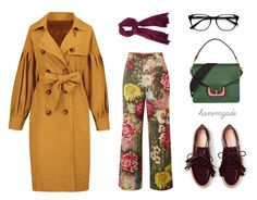 """Untitled #633"" by seymayldz on Polyvore featuring Gucci, Coccinelle and EyeBuyDirect.com"