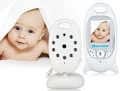 Rani baby monitor 2.0in lcd 2.4ghz wireless with 8ir led two-way talk 8 lullabies temperature monitor vox mode * Read more  at the sponsored product link.
