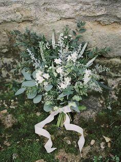 Greenery Wedding Bouquet // Photography ~ Theresa Furey || Bridal Bouquets || Modern Bridal Bouquets || Just Picked Bridal Bouquets