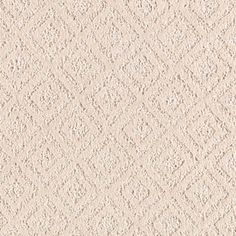 Mill View style carpet in Skylark color, available wide, constructed with Mohawk SmartStrand Silk w/DuPont Sorona carpet fiber. Mohawk Carpet, Mohawk Flooring, Basement Bathroom, Bathroom Ideas, Skylark, Kitchen Flooring, Diamond Pattern, Shag Rug, Color