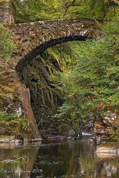 The Hermitage Bridge, Dunkeld, Perthshire Scotland