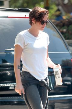 Kristen Stewart out and about in Los Angeles, October 2014.