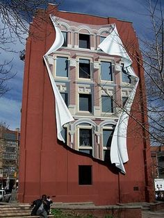 building mural~that is stunning~too cool