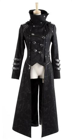 The pervert in me wants to see a redhead with long legs wearing this with knee-high boots and shorts. n_n