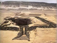 Subestructura de la mastaba del rey Den, V rey de la I dinastía