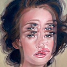 Canadian artist Alex Garant paints realistic portraits that capture her subjects in multiples. Using traditional portrait techniques, her oil paintings combine graphic design elements with abstract…