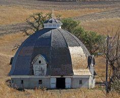 Round barn - Raise as a turret to a huge desert plains castle. Terri   ..rh