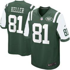 Nike Dustin Keller New York Jets Youth Game Jersey - Green - $19.99