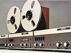 Revox A76, A77 and A78 brochure vintage reel to reel tape recorder collection
