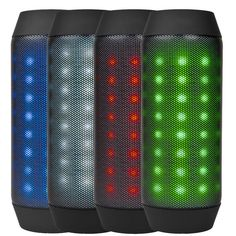 DS-828 Bluetooth Wireless Rechargeable Speaker TF/Aux input LED flashing lights