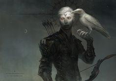 albus corvus by len-yan on DeviantArt