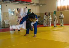 Judo has become a critical outlet for young women in Afghanistan Judo Video, Judo Throws, Tough Woman, Self Confidence, Afghanistan, Young Women, Real Life, How To Become, Kids
