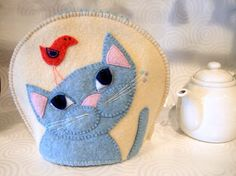 Image result for recycled felted sweater tea cosies