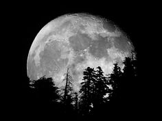 Moonrise by Ansel Adams | 2013-10-19 Mt Baldy moonrise