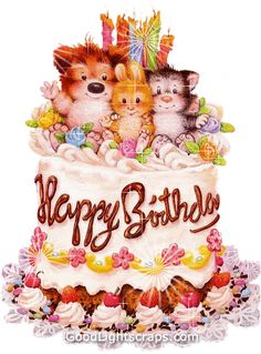 birthday pictures graphics cake candle