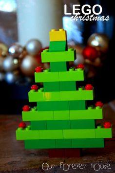 Free How to make a Lego Christmas tree
