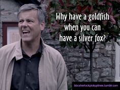 My sentiments exactly. come on Mycroft, catch yourself a fox!