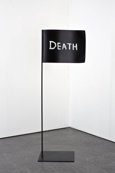 David Shrigley, Death Flag, 2009