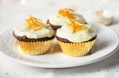 A simple Ginger cupcakes with clementine Philadelphia icing recipe for you to cook a great meal for family or friends. Buy the ingredients for our Ginger cupcakes with clementine Philadelphia icing recipe from Tesco today. Cupcake Recipes, Baking Recipes, Cupcake Cakes, Cupcakes, Mango Cheesecake, Cheesecake Cookies, Philadelphia Recipes, Afternoon Tea Recipes, Tesco Real Food
