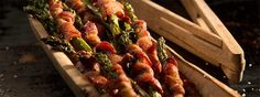 Bacon makes everything better. As dedicated bacon enthusiasts, we're working hard to test this hypothesis by wrapping everything in bacon before grilling it to crispy, salty perfection on the Traeger. Mushroom Side Dishes, Steak Side Dishes, Traeger Recipes, Grilling Recipes, Smoker Recipes, Chef Recipes, Grilled Bacon Wrapped Asparagus, Roasted Broccolini, Cooking The Perfect Steak