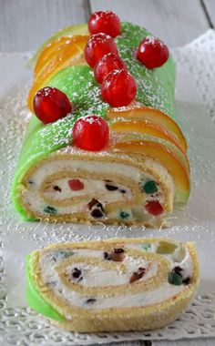 Sicilian Recipes, Best Italian Recipes, Italian Desserts, Great Desserts, Dessert Recipes, Jelly Roll Cake, Cocktail Desserts, Ricotta, Italian Recipes