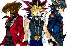 Three Protagonists by Ycajal.deviantart.com on @deviantART