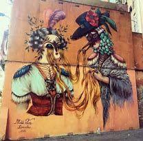 Image result for Miss Van Street Art