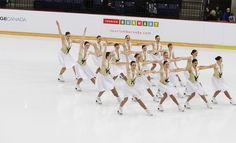 Synchronized skaters descend on Quebec City for 2015 Skate Canada Synchronized Skating Championships