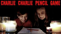 CHARLIE CHARLIE PENCIL GAME CHALLENGE - SO SCARY!
