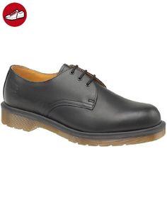 Dr. Martens Vintage Safety Steel Toe Shoes Black 3 Eyelet B-FH1925Z EU44.5 UK10 Wp6noZegkw