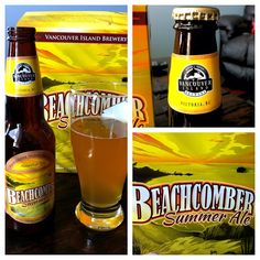 "@travelingcanucks's photo: ""Tonight's #beer selection - Beachcomber Summer Ale from #Vancouver Island Brewery"""