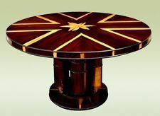 "Great 59"" Art Deco style Center Dining conference table"