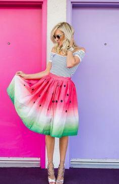 Ik heb een obsessie met kleding met een fruit thema