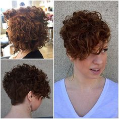 I feel super humbled that Charlotte came from Southern California to get her hair cut by me. She found the picture of my short curly pixie and didn't want to settle for just anybody cutting it. Her curls fit this style PERFECTLY! You look stunning Charlotte! I hope you love it! #curlyhair #REDHEAD #behindthechair #americansalon #thecutlife #pixiehair #shorthair #bayareahairstylist #sfhairstylist